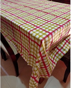 Dining Table Cloth - Size 60 * 90 Inches (Check)