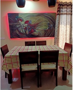 Dining Table Cloth - Size 60 * 90 Inches