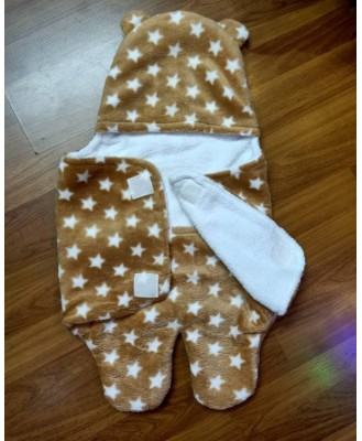 Warm / Woolen 2 in 1 Baby Wrapper and Blanket