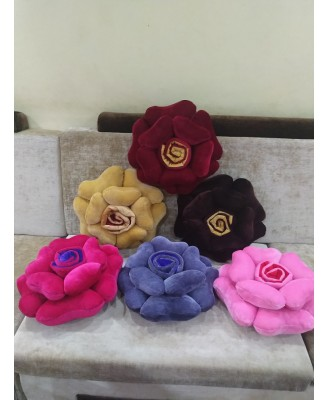 Cushion - Flower - Available in multi Colors