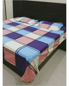 Signature Utsav Premium Double Bedsheet with 2 Pillow Covers, Size - 90*100 Inch , Fabric - Pure Cotton, Book Folder Packing , Good For Personal Use As Well As Gifting Purpose
