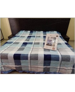 Signature King Size Double Bed Comforter (AC QUILT) + Cotton Bedsheet Set